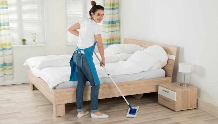 уборка однокомнатной квартиры