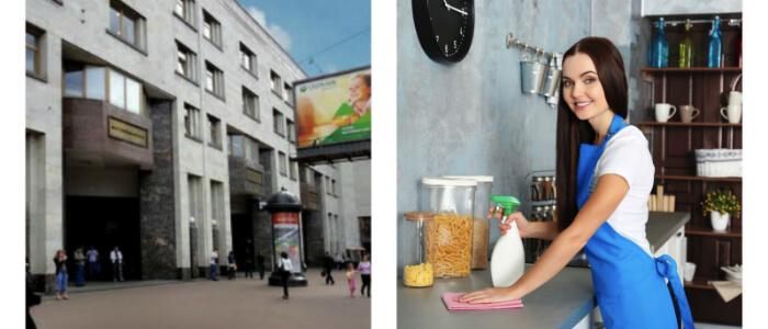 Уборка квартир Лиговский проспект