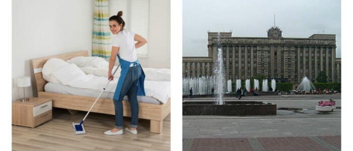Уборка квартир Московская