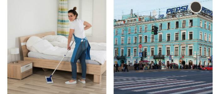 Уборка квартир Невский проспект