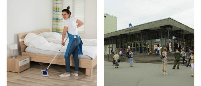 Уборка квартир Василеостровская